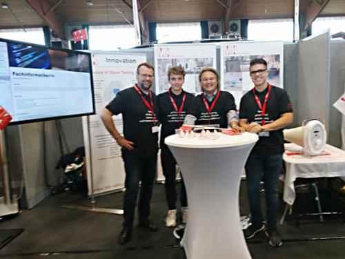 Das MK Messe-Team bei der Ausbildungsmess in Alsfeld.
